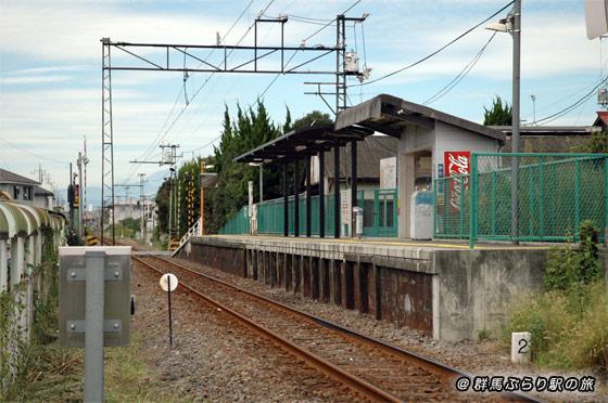 片貝駅(かたかいえき) 上毛電気鉄道